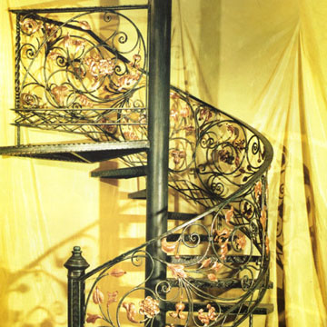 Iron staircase xiamen feelyiron